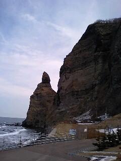 セタカムイ岩です。